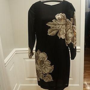 Linda Allard Ellen Tracy floral dress